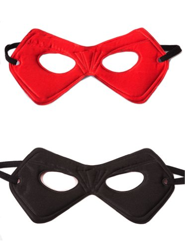 Power Mask Red/Black - 1
