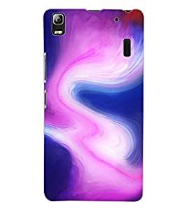 ColourCraft Colour Abstract Design Back Case Cover for LENOVO A7000 PLUS