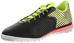 adidas Performance Men\'s X 15.2 CG Soccer Shoe, Core Black/Solar Yellow/Flash Red S15, 8.5 M US