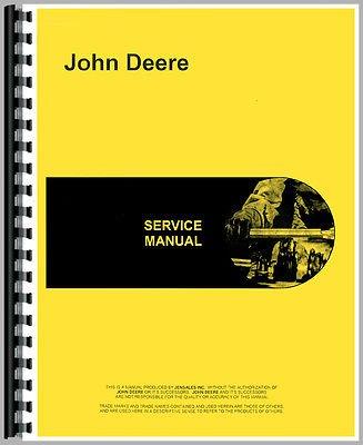 New Service Manual For John Deere Skidder Model 440