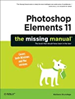 Photoshop Elements 11: The Missing Manual Front Cover