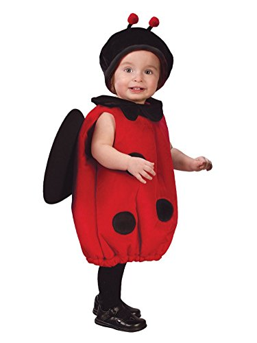 Fun World Infant & Toddler Girls Baby Bug Costume Plush Ladybug Outfit