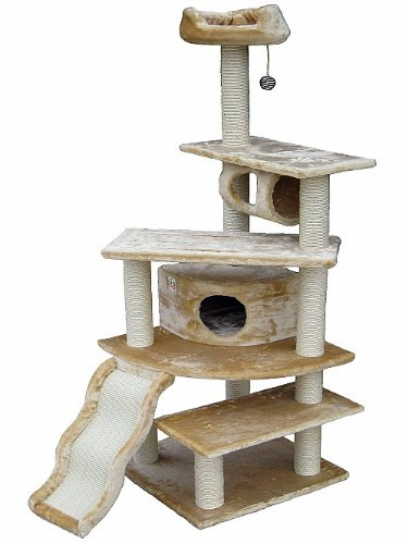 Go Pet Club Cat Tree Beige Color Get Rabate