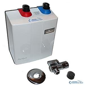 Wijas perfect piccolo scaldabagno elettrico posizionabile sotto il lavandino 3 5 kw amazon - Scaldabagno piccolo ...