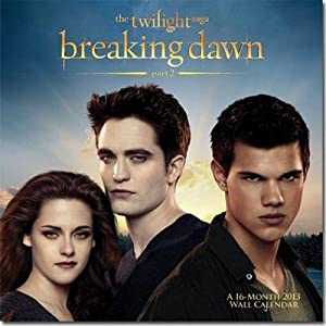 (12x12) The Twilight Saga Breaking Dawn 16-Month 2013 Wall Calendar