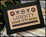img - for Liberty-1776 Cross Stitch Chart book / textbook / text book