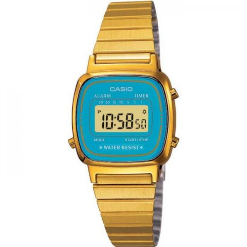 Casio Collection Damen-Armbanduhr Digital Quarz LA670WEGA-2EF