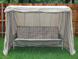 Large Canopy Swing Cover : 88 x 52 x 70 Khaki