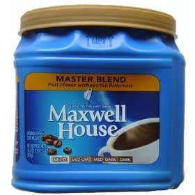 Amazon com maxwell house master blend coffee 34 5 oz pack of 2