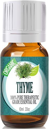 Thyme (Organic) (Premium) 100% Pure, Best Therapeutic Grade Essential Oil - 10Ml