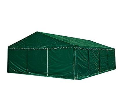 5 x 8 m de almacenamiento tienda de campaña, PVC marquee verde oscuro