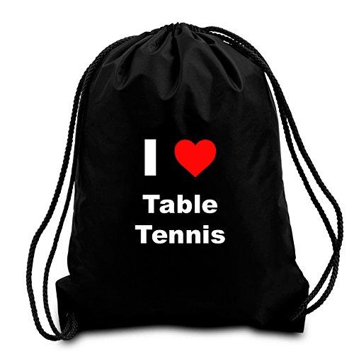 black-i-love-table-tennis-drawstring-bag
