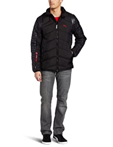 PUMA Men's SF Padded Jacket, Black, Large