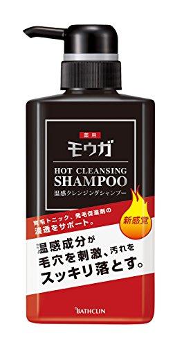 モウガ薬用温感クレンジングシャンプー380ml