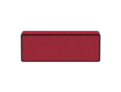 Sony Srsx3 Portable Nfc Bluetooth Wireless Speaker (Red)