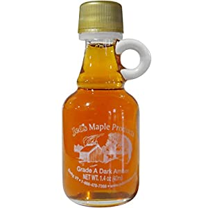 Jed's Pure Vermont Maple Syrup Certified Organic - Small Glass Bottle - 1.4 oz.