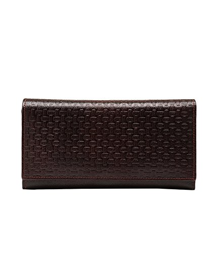 Lifestyle Escobar Bi-Fold Self Wallet - Brown