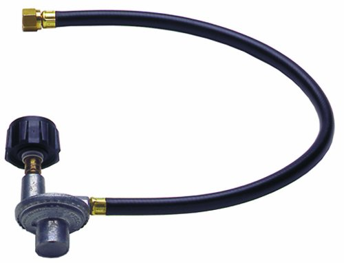 Grillpro 80012 24-Inch Qcc1 Grill Replacement Hose With Regulator
