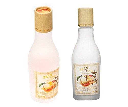 skinfood-peach-sake-toner-135ml-emulsion-135ml-total-2pcs