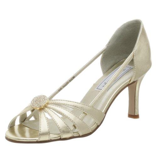 Touch Ups Women's Gemini Sandal,Gold,5 M