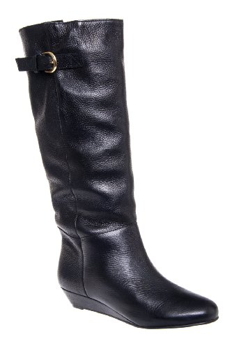 Steven By Steve Madden Women'S Intyce Riding Boot,Black,10 M