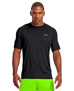 Under Armour Men's UA Tech™ Short Sleeve T-Shirt Large Black