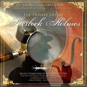 Das Privatleben des Sherlock Holmes (The Private Life Of Sherlock Holmes), re-recording, Miklos Rozsa [Soundtrack] [Audio CD] [Import-CD]