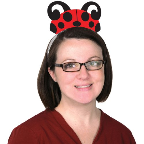 Printed Ladybug Tiara Party Accessory