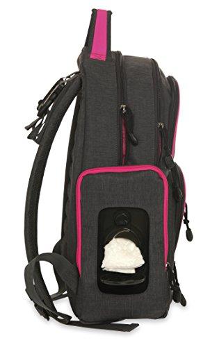 carter 39 s sport back pack diaper bag grey pink luggage bags bags. Black Bedroom Furniture Sets. Home Design Ideas