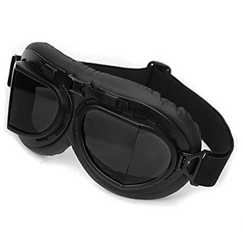 vintage-motorcycle-motocross-bike-biker-sport-glasses-atv-scooter-cruisers-chopper-half-helmet-black