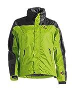 Izas Chaqueta Impermeable Jackets-Poncho (Verde Claro / Negro)