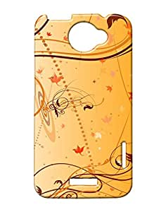 Pickpattern Back Cover for HTC One X