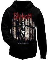 Sweat à capuche officiel SLIPKNOT .5 Le chapitre Album toutes tailles Gris