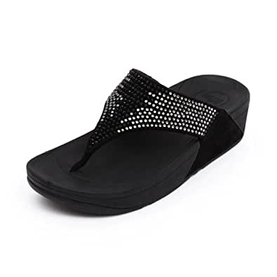 Fitflop Flare Womens, Black, 41 EUR, B