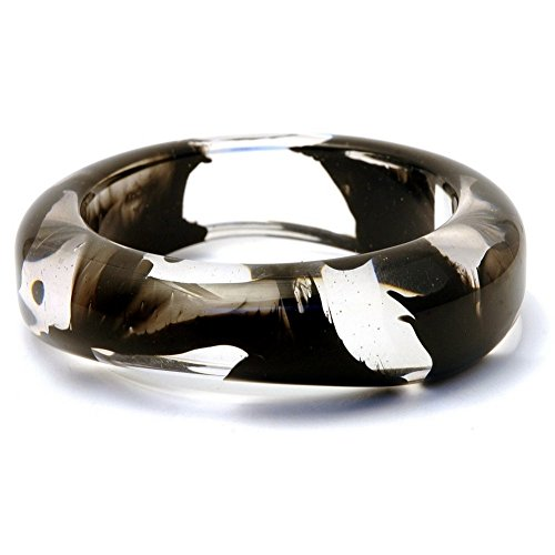 Bangle Tapered Infusion Black Made With Resin by JOE COOL (Infusion Resin compare prices)