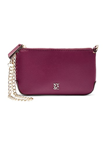 New York & Co. Women's Chain-Handle Wallet 0 Burgundy Spice (New York And Company Shoes compare prices)