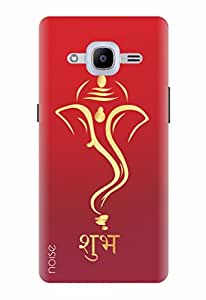 Noise Designer Printed Case / Cover for Samsung Galaxy J2 - 6 (New 2016 Edition) / Festivals & Occasions / Lord Vinayak In Gold Design