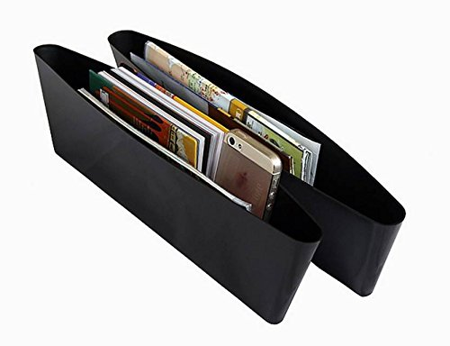 AUTO CAR WINNER Car Seat Side Pocket Caddy Car Seat Slit Pocket Catcher Organizer-Set of 2 for S-cross