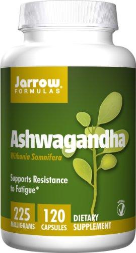 Jarrow Formulas Ashwagandha 225Mg, 120 Veggie Capsules