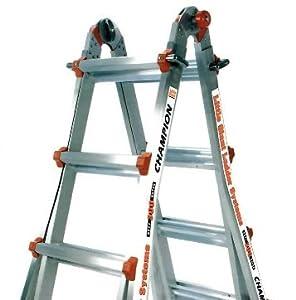 26 1A Little Giant Ladder Classic Champ Bundle - Includes 4 Accessories: Work Platform, Leg Leveler, 4ft Master Ladder Lock, & Wheels