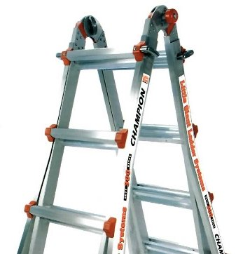 Ladder Stand Off