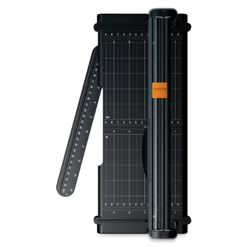 Fiskars 12 Inch Titanium SureCut Paper Trimmer (01-005454) (Fisker Rotary Cutter compare prices)