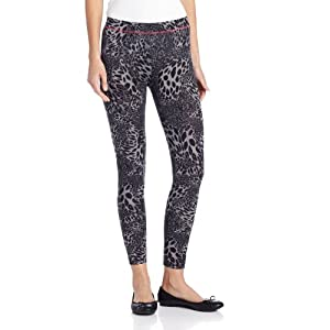 Betsey Johnson Women's Call Of The Wild Legging, Cosmic Star, Small/Medium