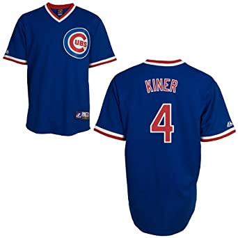Ralph Kiner Chicago Cubs Cooperstown Replica Jersey by Majestic by Majestic