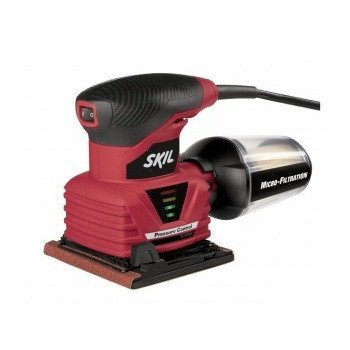 SKIL 7292-02 1/4-Inch Sheet Palm Sander With Pressure Control And Micro Filtration