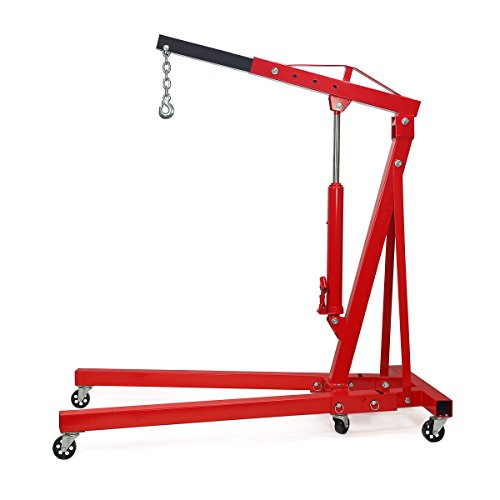 Best Price! 2 Ton Capacity Folding Cherry Picker Foldable Engine Hoist