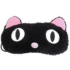 クール・アニマル・アイマスク(黒猫その3) モコモコ・バージョン