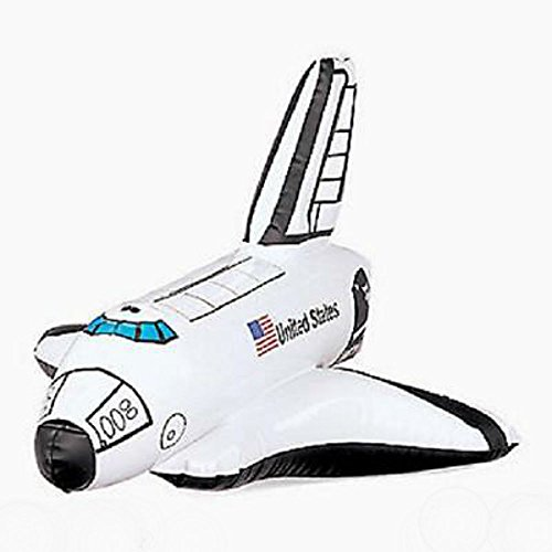 1 Birthday Party Favor Toy Prize Gift Astronaut INFLATABLE SPACE SHUTTLE U.S Best Seller! (Space Table Confetti compare prices)