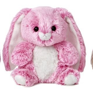 Candy Cuddles 7 Inch Bunny - Pink - 1