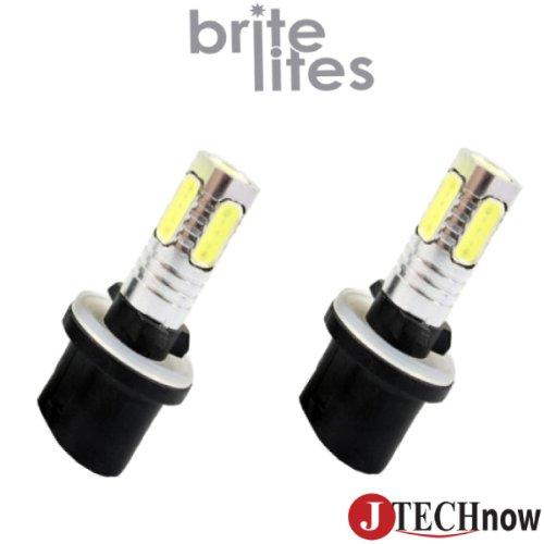 Jtech 880 Type 13W High Power Smd Led Fog/Drl Bulb Xenon White Light. Pair